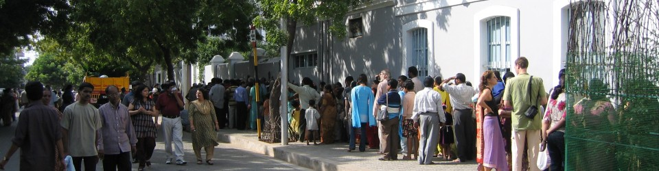 Visit the Ashram in Pondicherry