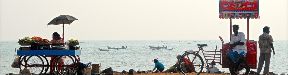 Pondicherry, a little bit of France in India…