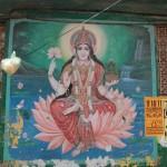 Sarasvatī, the goddess of knowledge, wisdom and arts, in Vārānasī (Benares)