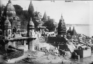 Benares, Varanasi, India in 1922