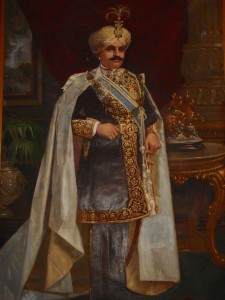 Maharaja of Mysore, painting