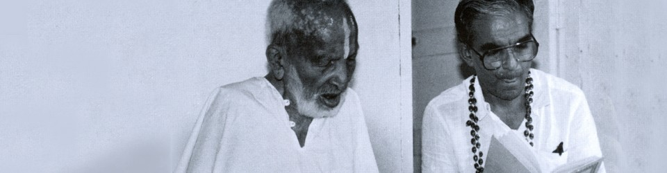 Sri Tirumalai Krishnamarcharya, one of the greatest masters of yoga (1888 – 1988)