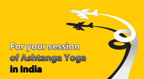 For your session of Ashtanga Yoga in India