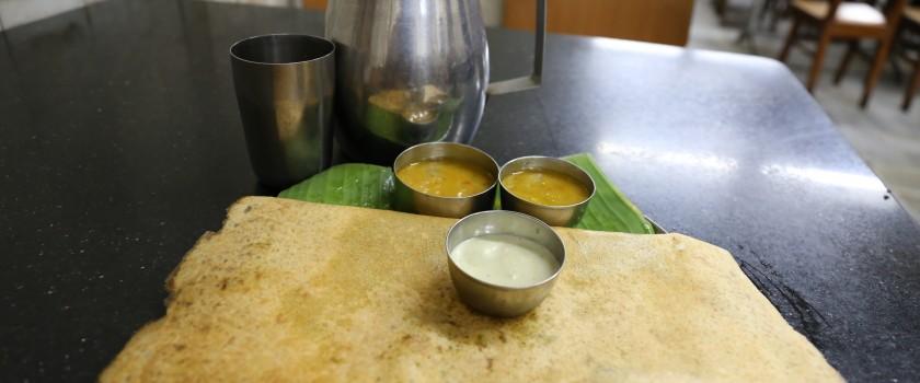 Cuisine indienne _masala dosa
