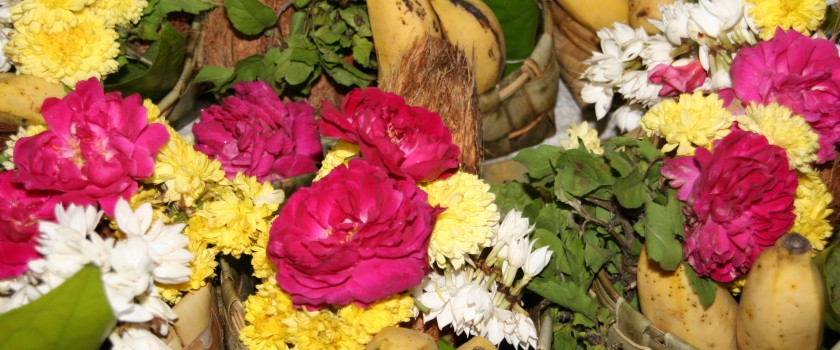 Flowers offrandes