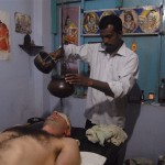 Krishna,  Ayurvedic Shirodara