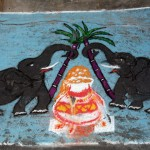 """"""" Rangoli """" pendant le  Pongal"""