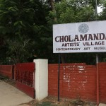Cholamandal artists' village, entrance