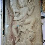 Ekambareshvara Temple, Shiva terrassant l'ignorance