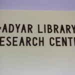 Theosophical Society, Adyar Library
