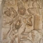 Kanchipuram, Kailashanatha Temple, Shiva & Ganesh