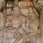 Kanchipuram, Kailashanatha Temple, Shiva & Parvati