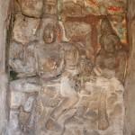 Kanchipuram, Kailashanatha Temple, Shiva Parvati Murugan