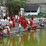 Kanchipuram, Varadaraja Temple, Tank aux ablutions