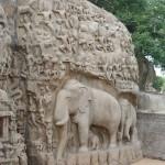Mahabalipuram_La descente du Gange_a