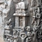 Mahabalipuram_La descente du Gange_b