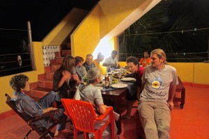 Yellow House terrasse