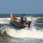 Pêcheurs à Mahâbalipuram
