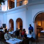 Hôtel Héritage à Pondichery, le restaurent