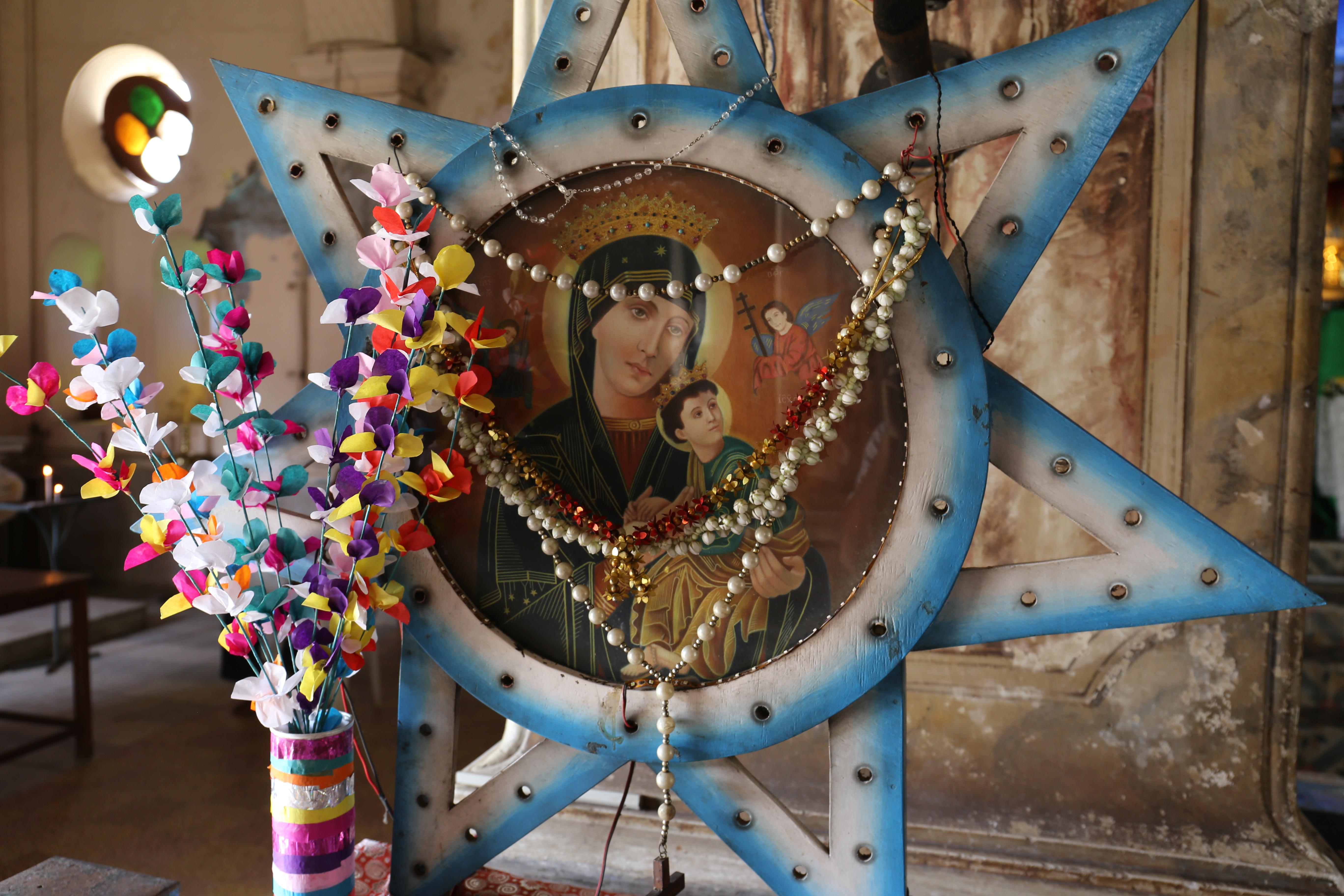 Vierge Marie à l'enfant
