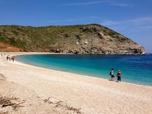 Andros Island, merveilleuse plage