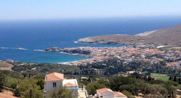 Andros Island Greece, Batsi beach