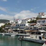 Andros Island Greece, Batsi Port