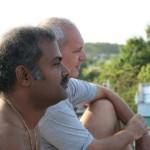 With Ramesh, Mahabalipuram