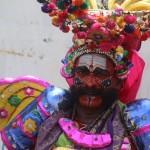Danseur folk drama Mahabharata