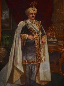 Peinture du Maharaja de Mysore