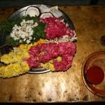 Offrande pour la Puja