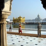 The Golden Temple  des Sikhs à Amritsar