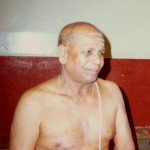 Guruji (Sri K. Pattabhi Jois), à Laksmi Puram, Mysore