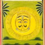 Surya  painting