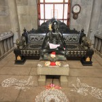 Statue de Sri Ramana Maharshi, Ashram
