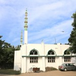 A Mahabalipuram la nouvelle mosquée