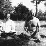 Session Ashtanga Yoga été 1990, Claude Daumal & JC