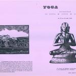 Ashtanga Yoga session aout 1990 à la Cté de L'Arche