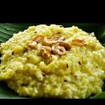 Pongal rice salé