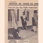 Coupure du Journal Paris Normandie -  Cours yoga église Ste Claire