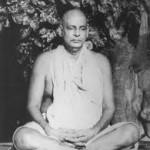 Sivananda in meditation