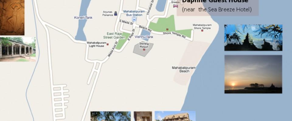 plan Mahabalipuram