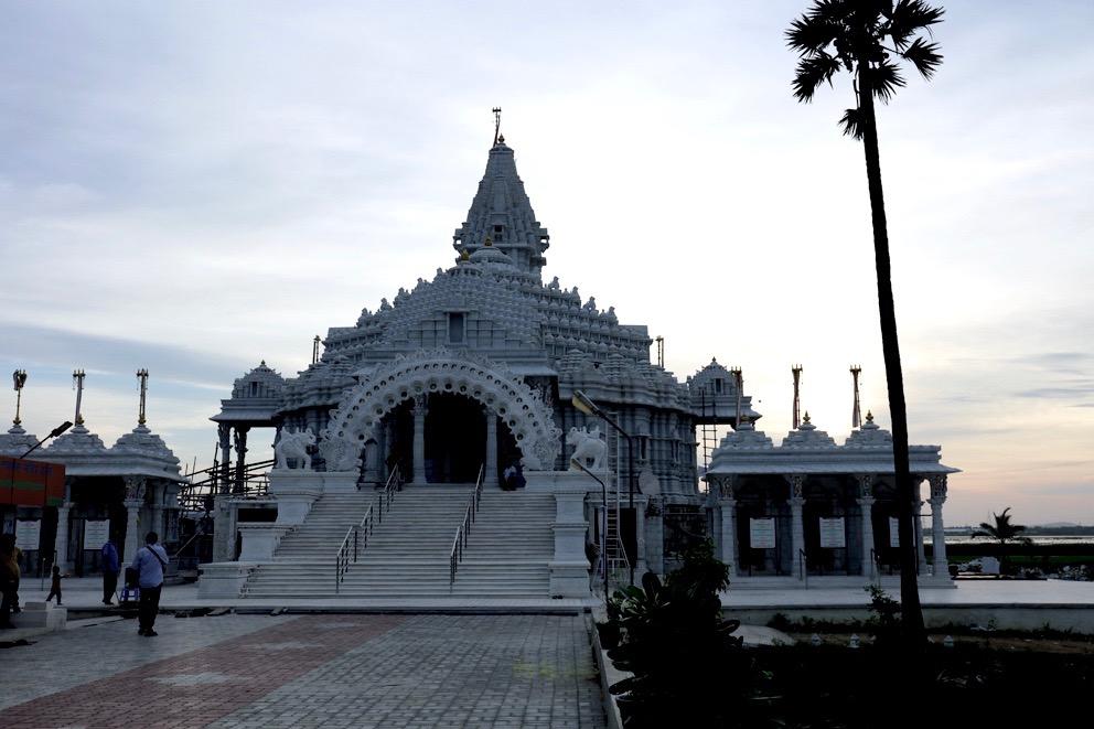 Temple Jaïn près de Mahabalipuram, Tamil Nadu