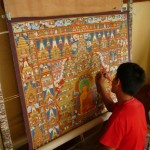 Thankha Bouddhisme Tibétain