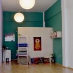Ashtanga Yoga, la salle de Katarina à Athènes, un lieu paisible
