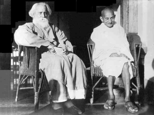 gandhi-with-tagore