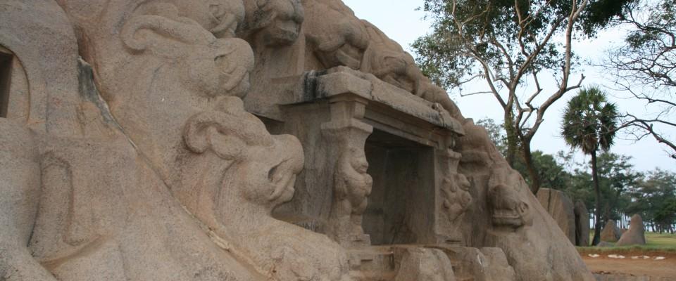 Mahabalipuram Grotte du Tigre