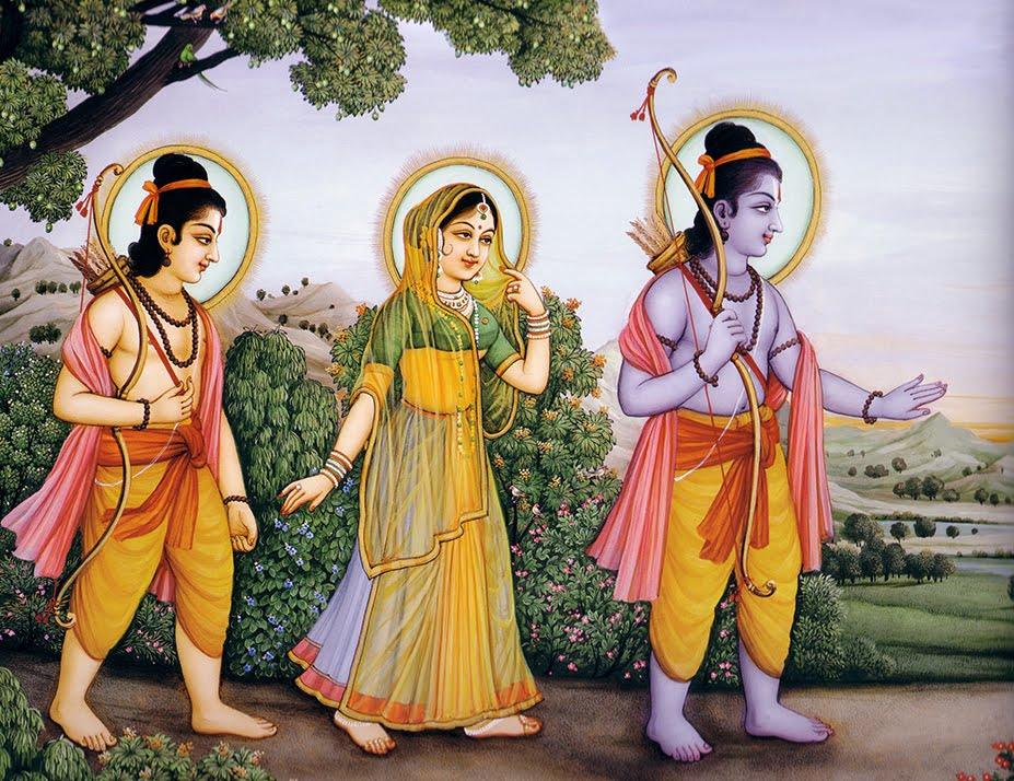 Rama-Sita-Lakshman-vanavasam