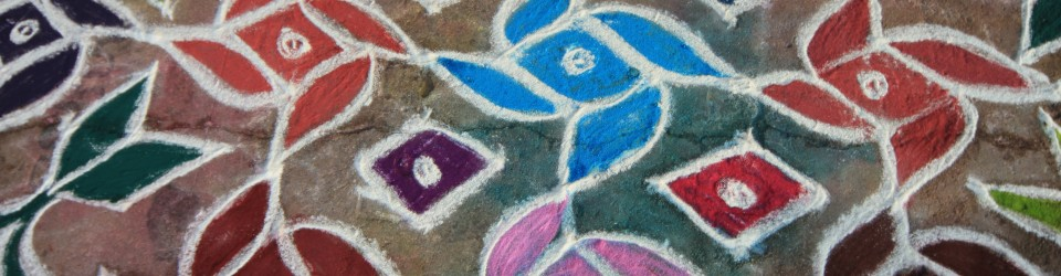The meaning of Rangolis, an ephemeral art form.