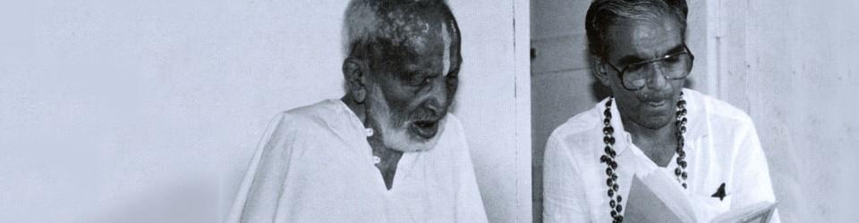 Sri Tirumalai Krishnamarcharya, one of the greatest masters of yoga (1888 – 1988)